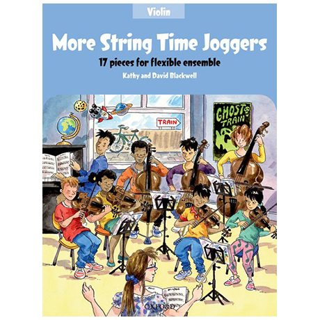 Blackwell, K. & D.: More String Time Joggers – Violin