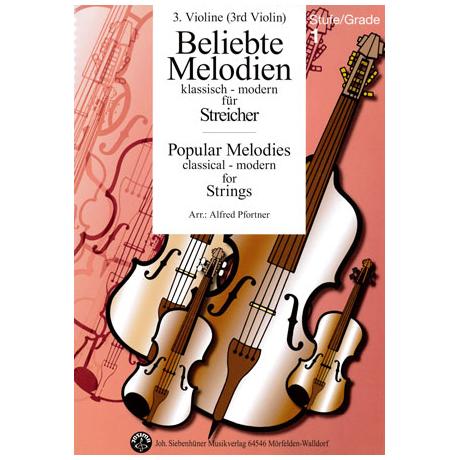 Beliebte Melodien: klassisch bis modern Band 1 – Violine 3