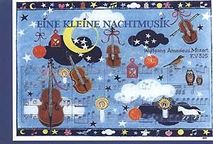 Kunstkarte Kleine Nachtmusik