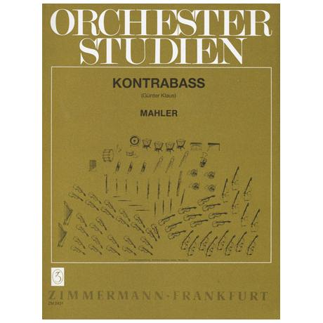 Klaus: Orchesterstudien für Kontrabass