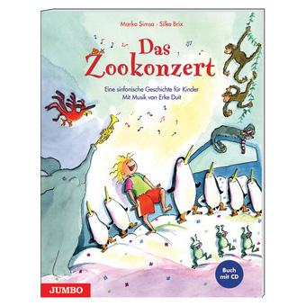 Simsa: Das Zookonzert (+CD)