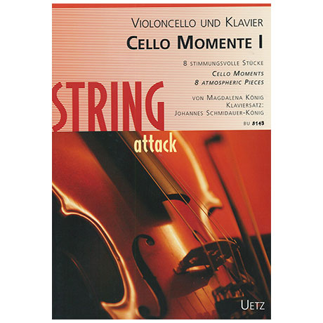 König, M.: Cello Momente I (+CD)