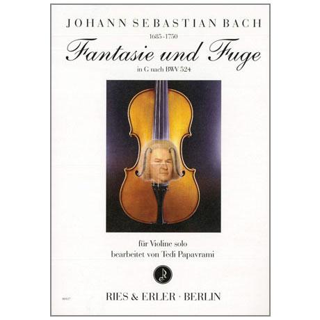 Bach, J.S.: Fantasie und Fuge in G nach BWV 542