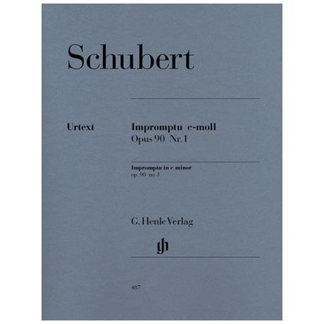 Schubert, F.: Impromptu c-Moll Op. 90,1 D 899