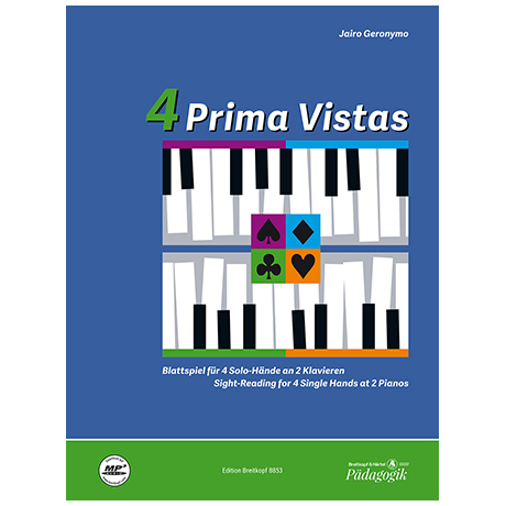 Geronymo, J.: 4 Prima Vistas (+Online Audio)