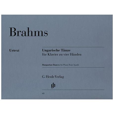 Brahms, J.: Ungarische Tänze zu 4 Händen