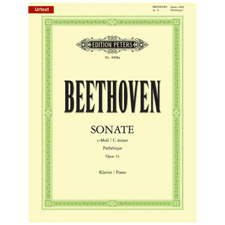 Beethoven, L. v.: Sonate c-Moll Op. 13 (Pathétique)
