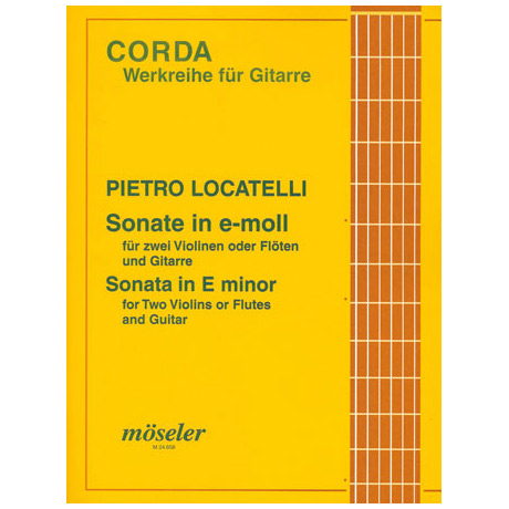 Locatelli: Sonate e-moll op.5 Nr.2