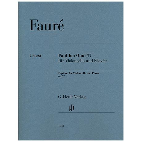 Fauré, G.: Papillon Opus 77