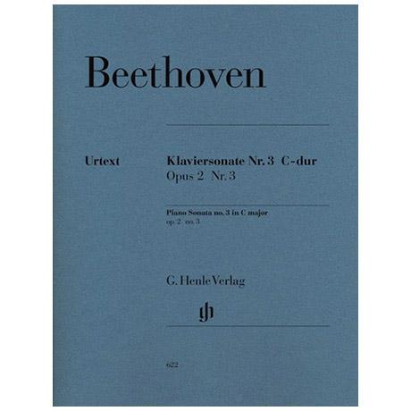 Beethoven, L. v.: Klaviersonate Nr. 3 C-Dur Op. 2,3