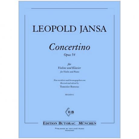 Jansa, L.: Concertino Op. 54
