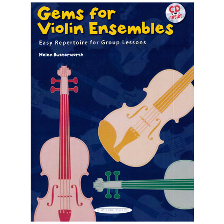 Butterworth, H.: Gems For Violin Ensembles Band 1 (+CD)