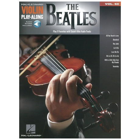The Beatles – Violin Play Along 60 (+Online Audio)
