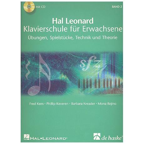 Hal Leonard Klavierschule für Erwachsene Band 2 (+2CDs)