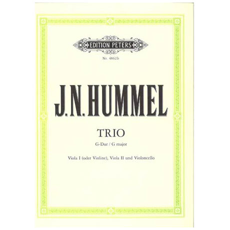Hummel, J.N.: Trio Nr. 2 G-Dur