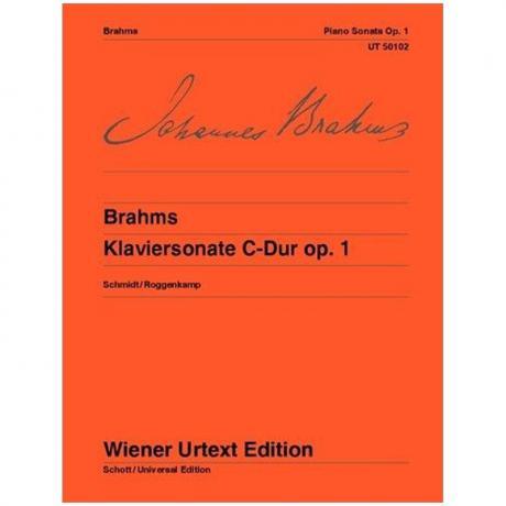 Brahms, J.: Klaviersonate Nr. 1 C-Dur