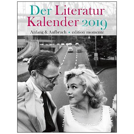 Der Literatur Kalender 2019 – Anfang & Aufbruch