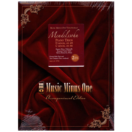 Mendelssohn Bartholdy, F.: Piano Trios, Op. 49, Op. 66 (+ 2 CD's)