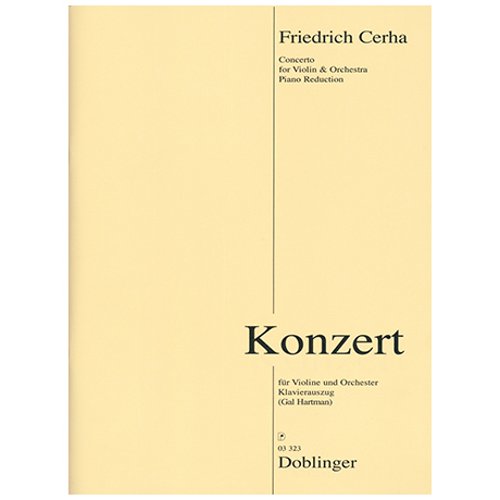 Cerha, F.: Violinkonzert