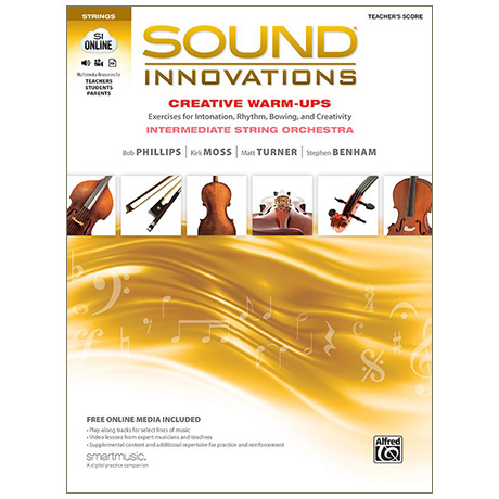 Sound Innovations for String Orchestra: Creative Warm-Ups - Lehrerpartitur (+Online Video und Audio)