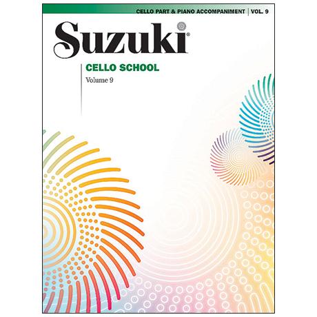 Suzuki Cello School Vol. 9