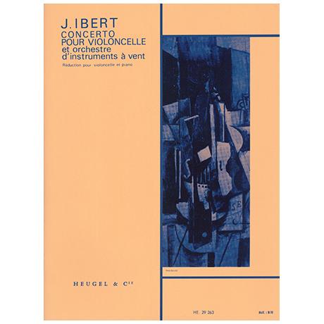 Ibert, J.: Violoncellokonzert