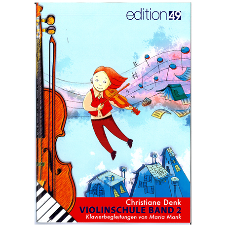 Denk, Chr.: Violinschule Band 2 – Klavierbegleitung