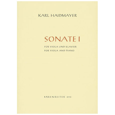 Haidmayer, K.: Sonate Nr.1
