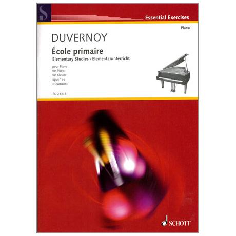 Duvernoy: Ecole primaire Op.176