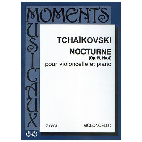 Tschaikowski, P.I.: Nocturne Op.19 Nr.4