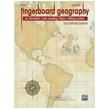 Barber, B.: Fingerboard Geography for Violin – Band 1
