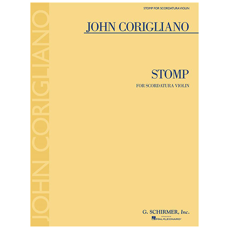 Corigliano, J.: Stomp for Scordatura Violin