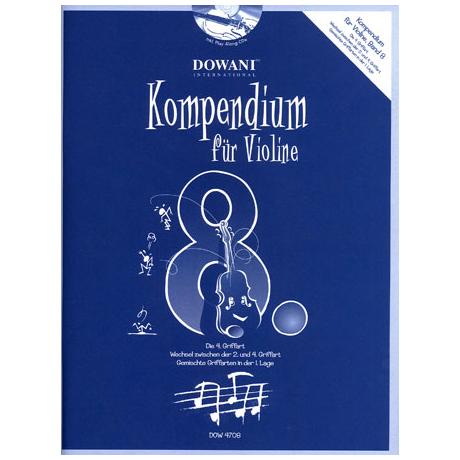 Kompendium für Violine – Band 8 (+CD)