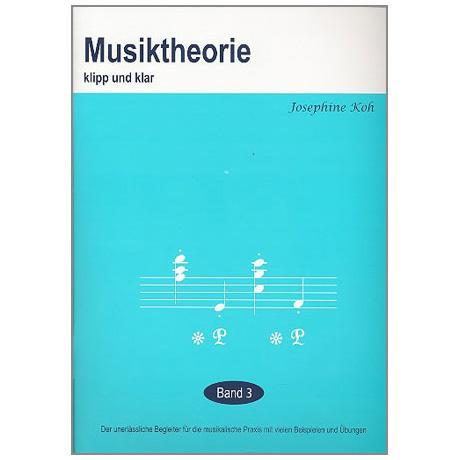 Musiktheorie Klipp und Klar – Band 3