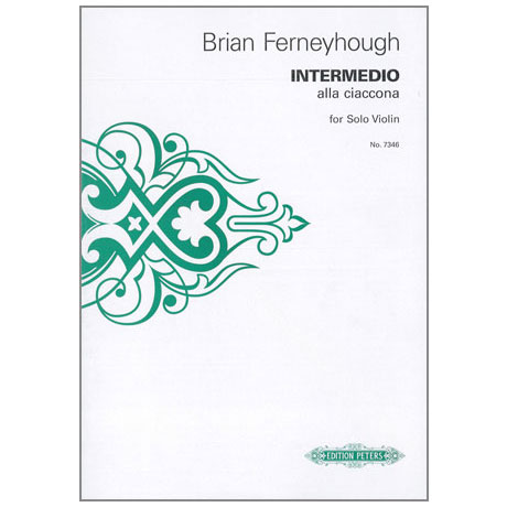 Ferneyhough, B.: Intermedio alla ciaccona