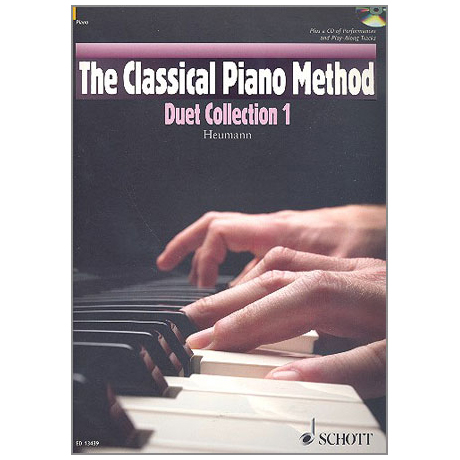 Heumann, H.-G.: The Classical Piano Method - Duet Collection Band 1 (+CD)