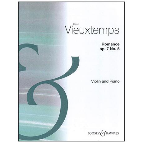 Vieuxtemps, H.: Romance Op. 7/5 A-Dur