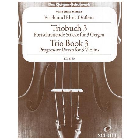 Doflein: Das Geigen-Schulwerk Triobuch Band 3