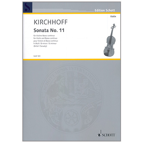 Kirchhoff, G.: Sonata No.11 h-Moll