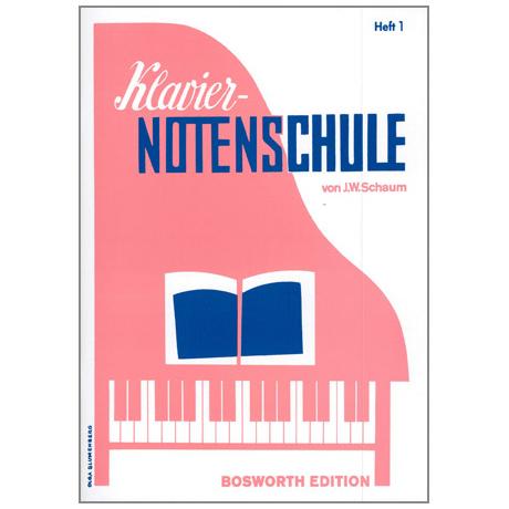 Schaum, J. W.:– Klavier-Notenschule 1