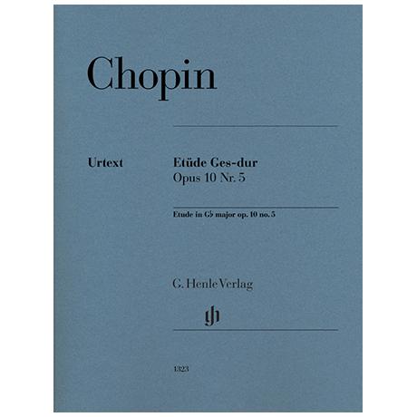 Chopin, F.: Etüde Ges-Dur Op. 10 Nr. 5