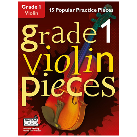 Hussey, Ch.: Grade 1 Violin Pieces (+Download Card)