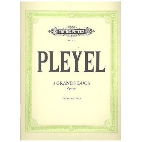 Pleyel, I.: 3 Grands Duos Op.69