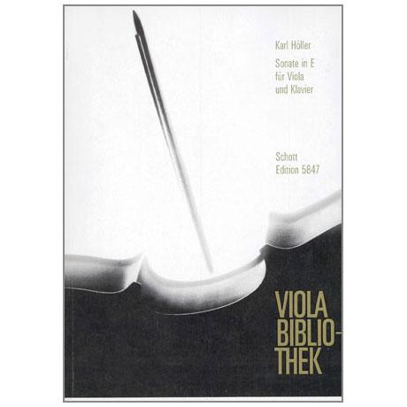 Höller, K.: Violasonate Op. 62 E-Dur