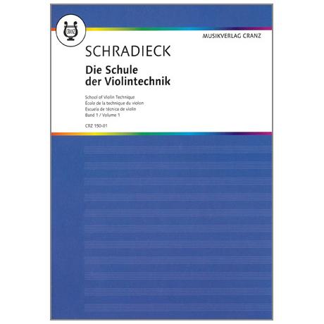 Schradieck, Henry: Die Schule Der Violintechnik, Band 1