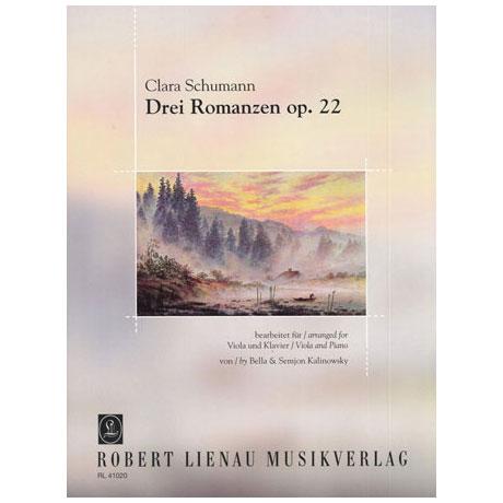 Schumann, C.: Drei Romanzen Op.22