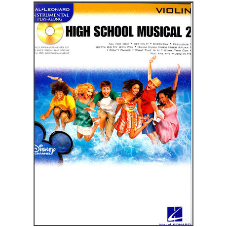 High School Musical vol.2: Violin (+CD)