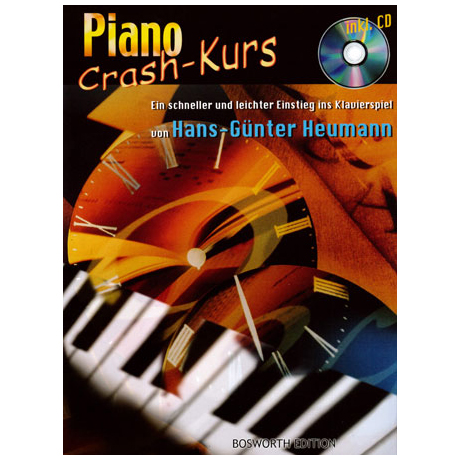 Heumann, H.-G.: Piano Crash-Kurs (+CD)
