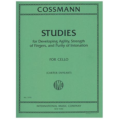 Cossmann, B.: Etüden zur Fingerbeweglichkeit