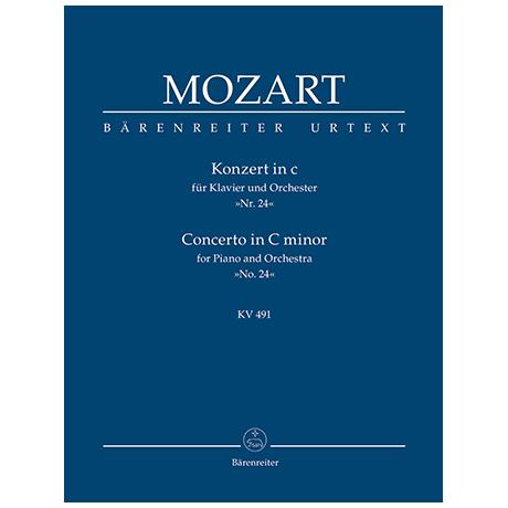 Mozart, W. A.: Konzert für Klavier und Orchester Nr. 24 c-Moll KV 491